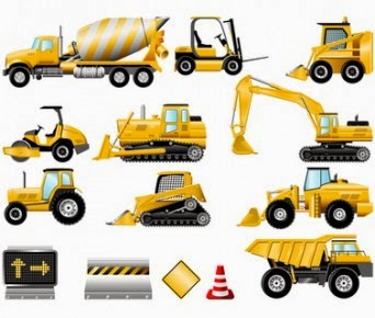 Equipment use in construction industry