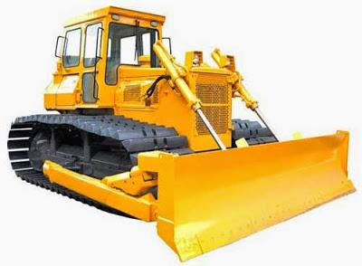 Bulldozer in Construction
