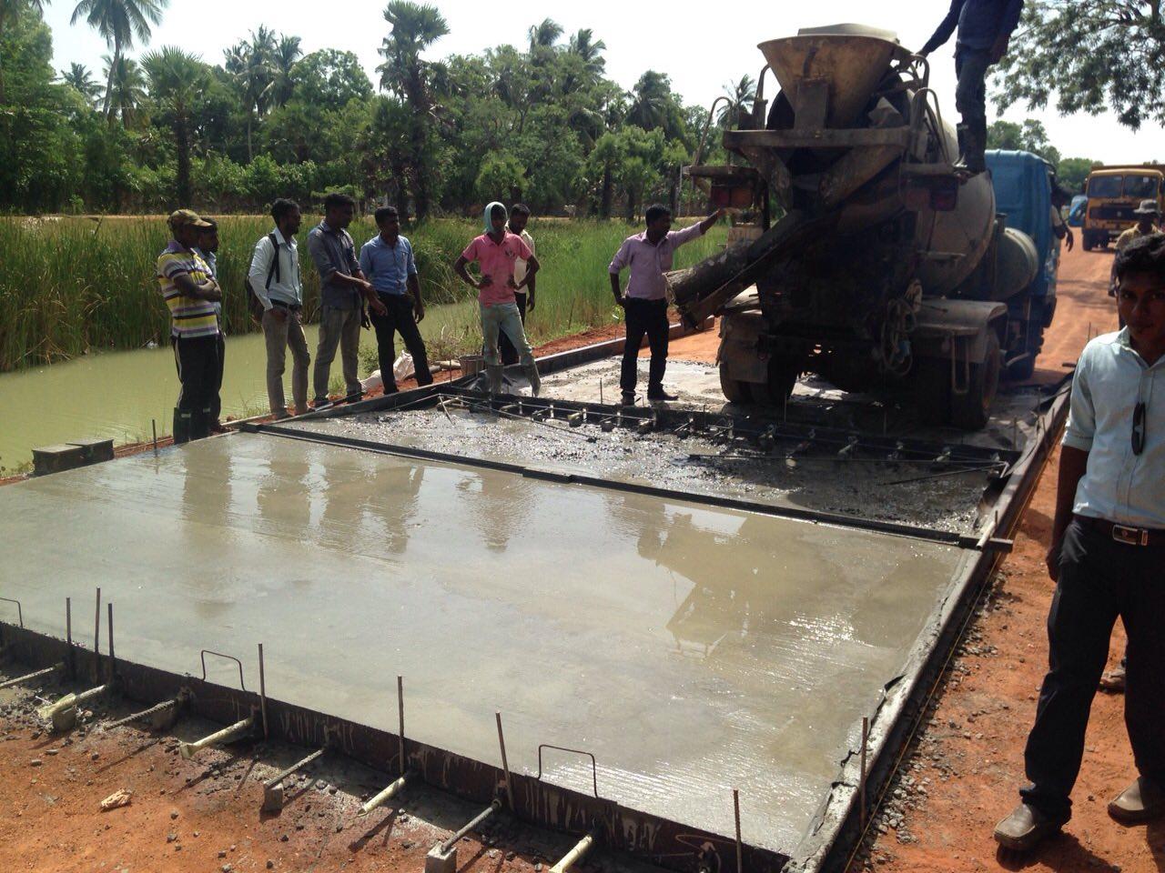 Concrete Road Design In Rural Area In Sri Lanka Basic